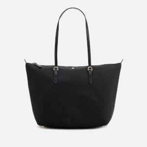 Lauren Ralph Lauren Women's Keaton 26 Nylon Tote Bag - Black