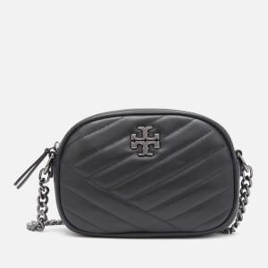 Tory Burch Women's Kira Chevron Small Camera Bag - Black/Gunmetal