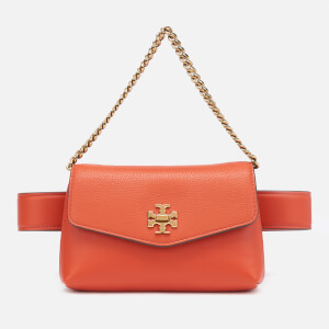 Tory Burch Women's Kira Mixed-Materials Belt Bag - Lava
