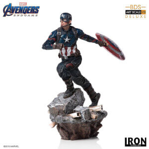 Iron Studios Avengers: Endgame Deluxe BDS Art Scale Statue 1/10 Captain America (21cm)