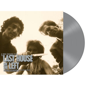 The Last House On The Left (Original 1972 Motion Picture Soundtrack) - Zavvi Exclusive Silver LP (100 Pieces Worldwide)