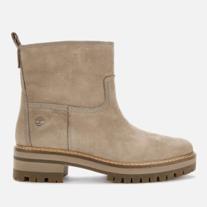 Timberland Women's Courmayeur Valley Faux Fur Boots - Taupe Nubuck