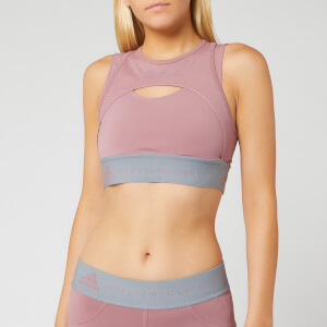 adidas by Stella McCartney Women's Hybrid Crop Top - Blush Mauve