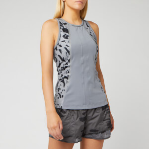 adidas by Stella McCartney Women's Run Tank Top - Grey/Black