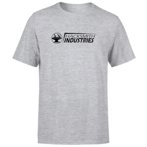 Hacksmith Industries Title T-Shirt - Grey