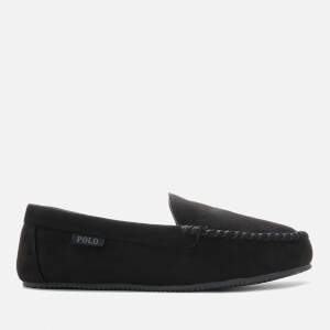 Polo Ralph Lauren Men's Dezi IV Polo Player Slippers - Black/Grey PP