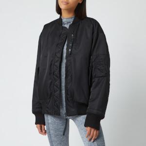 Reebok X Victoria Beckham Women's Oversized Bomber Jacket - Black