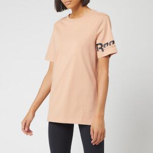 Reebok X Victoria Beckham Women's Short Sleeve T-Shirt - Pink