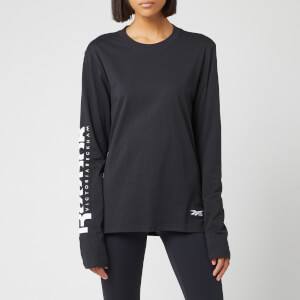 Reebok X Victoria Beckham Women's Long Sleeve T-Shirt - Black