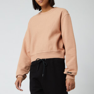 Reebok X Victoria Beckham Women's Cropped Sweatshirt - Pink