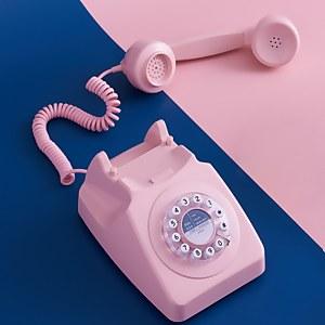 Wild and Wolf 746 Telefon – Dunkelrosa