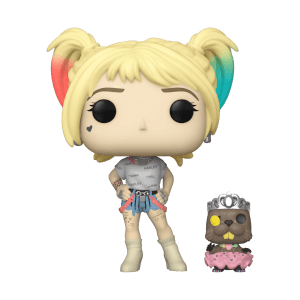 Figurine Pop! Harley Quinn Avec Castor - Birds Of Prey - DC Comics