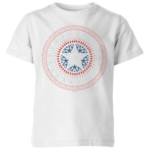 Marvel Captain America Oriental Shield Kids' T-Shirt - White
