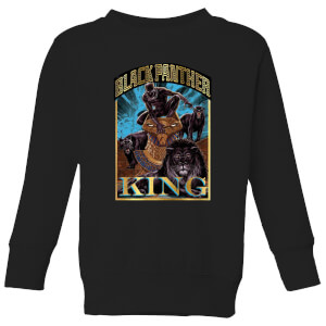 Marvel Black Panther Homage kindertrui - Zwart