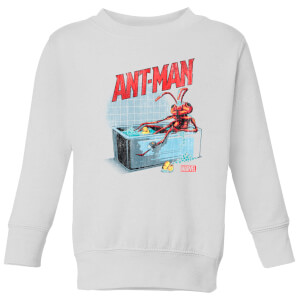 Marvel  Bathing Ant Kids' Sweatshirt - White