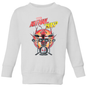 Marvel  Drummer Ant Kids' Sweatshirt - White