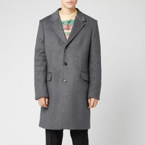 Acne Studios Men's Odilon Coat - Grey Melange