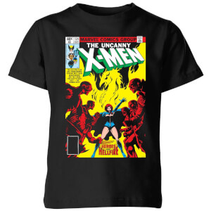 X-Men Dark Phoenix The Black Queen Kids' T-Shirt - Black