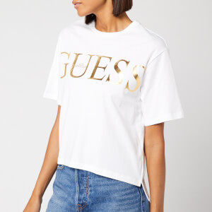Guess Women's Boxy T-Shirt - True White