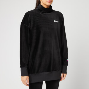 Champion Women's High Neck Sweatshirt - Black