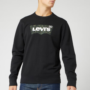 Levi's Men's Graphic Sweatshirt - Animal/Mineral Black