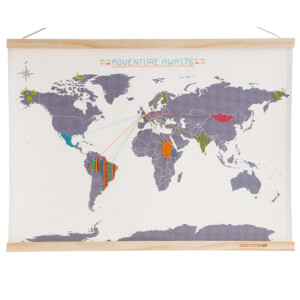 Cross Stitch Map - Mini Version