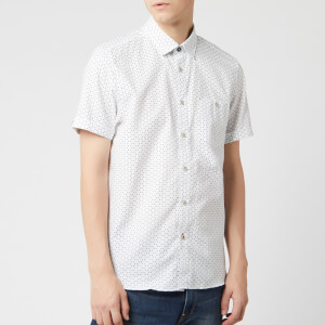 Ted Baker Men's Mathew Short Sleeve Shirt - White