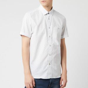 Ted Baker Men's Mathew Short Sleeve Shirt - White