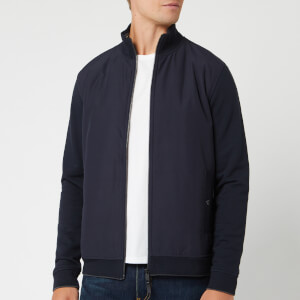 Ted Baker Men's Dandye Nylon Funnel Neck Sweatshirt - Navy