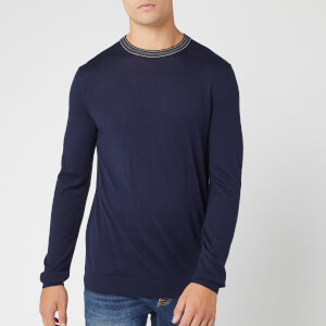 Ted Baker Men's Mailais Crew Neck Knitted Jumper - Navy