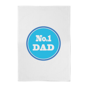 No. 1 Dad Cotton Tea Towel