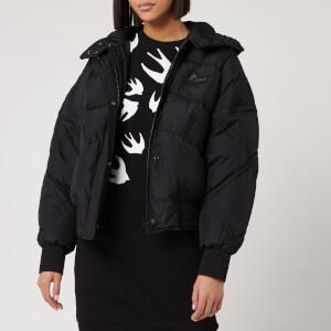 McQ Alexander McQueen Women's Hybrid Puffer Jacket - Darkest Black