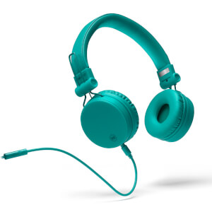 Mixx OX1 Wired 3.5mm Stereo Headphones - Teal