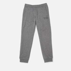 Emporio Armarni EA7 Boys' Train Core ID Coft Pants - Dark Grey Melange
