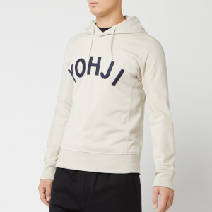 Y-3 Men's Yohji Letters Hoody - Ecru/Legend Ink