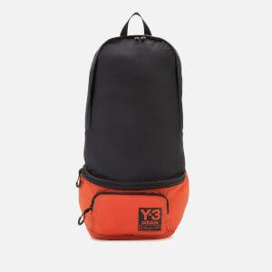 Y-3 Men's Packable Backpack - Icon Orange