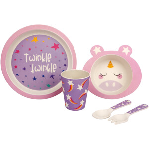 Sunnylife Eco Kids Meal Set Stardust