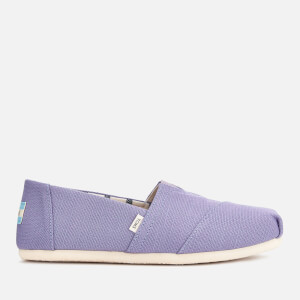 TOMS Women's Alpargata Slip-On Pumps - Purple