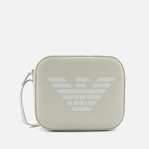Emporio Armani Women's Eagle Shoulder Tote Bag - Powder