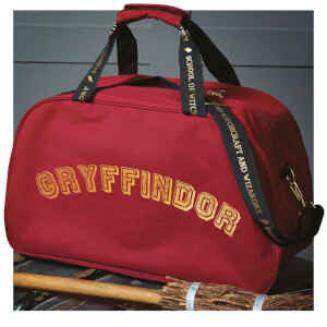 Hogwarts Quidditch Holdall Bag - Red