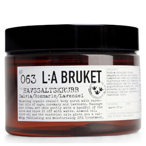 L:A BRUKET Sage, Rosemary and Lavender Sea Salt Scrub 420g
