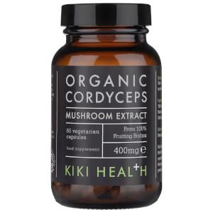 KIKI Health Organic Cordyceps Extract Mushroom (60 Vegicaps)