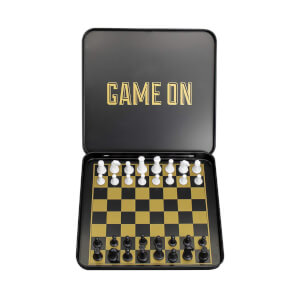 Iron & Glory Game On Magnetic Chess Set