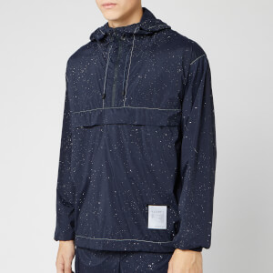 Satisfy Men's Anorak - Navy Silk Splattered