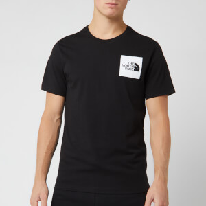 The North Face Men's Short Sleeve Fine T-Shirt - TNF Black