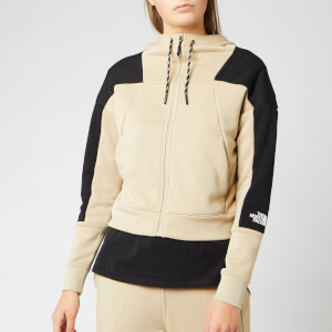 The North Face Women's Light Full Zip Fleece Hoody - Twill Beige