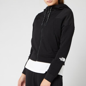The North Face Women's Light Full Zip Fleece Hoody - TNF Black