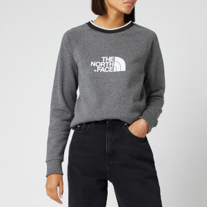 The North Face Women's Redbox Long Sleeve Crew Neck Sweatshirt - TNF Medium Grey Heather