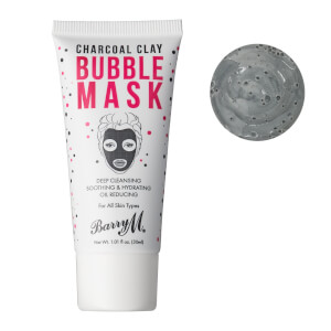 Barry M Cosmetics Charcoal Clay Bubble Mask (Free Gift)