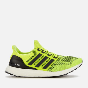 adidas Men's Ultra Boost Running Shoes - Solar Yellow